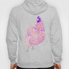 Magenta Orpington Chicken Hoody