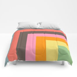 Stacked Colors Comforters