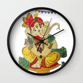 GANESHJI Wall Clock