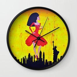 Typically Bizarre  Wall Clock