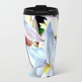 Cascading Cymbidium Travel Mug