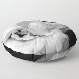 Rose Monochrome Floor Pillow