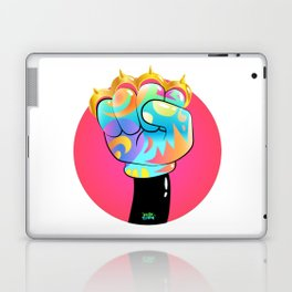 HelloTrilly - Knuckle Up Laptop & iPad Skin