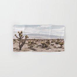 Vintage Desert Hombre // Cactus Cowboy Mojave Landscape Photograph Sunshine Hippie Mountain Decor Hand & Bath Towel