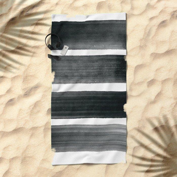Four Brushes Beach Towel