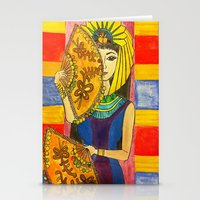 egyptian Stationery Cards featuring Egyptian by DaeChristine