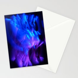 BLUE GLOWSTICKS Stationery Cards