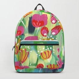 Frolicking In The Fields Backpack