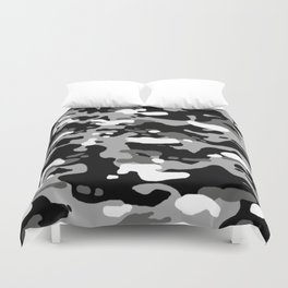 Military Camouflage: Urban I Duvet Cover