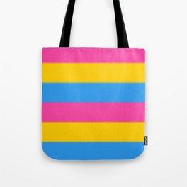 Pansexual Pride Flag v2 Tote Bag