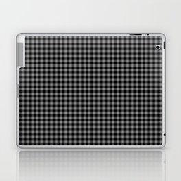 Mini Black and Grey Cowboy Buffalo Check Laptop & iPad Skin