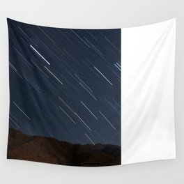 Shooting Stars in the Night Sky Wall Tapestry