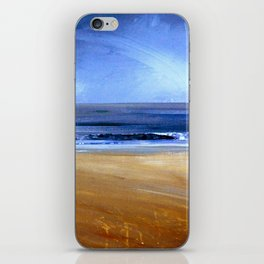 see the sky about to rain iPhone Skin
