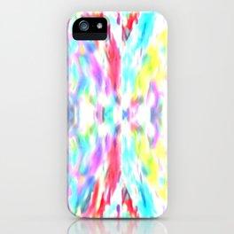 Illusionary colours iPhone Case