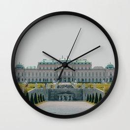 Vienna, Austria Travel Artwork Wall Clock