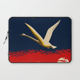 Ambition or trumpeter swan Laptop Sleeve