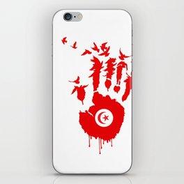 Tunisian Revolution iPhone Skin