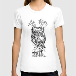 The Wonder Kingdom: The Owl of Life and Death T-shirt