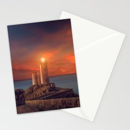 Phare Du Petit Minou Brest France Ultra HD Stationery Cards