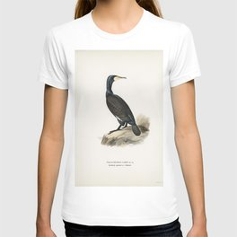 Great cormoran (Phalacrocorax Carbo) illustrated by the von Wright brothers T-shirt