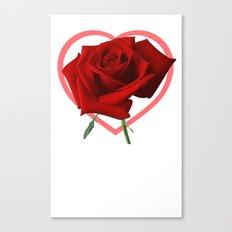 Roseheart Canvas Print
