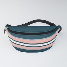 Colorful retro stripes Fanny Pack
