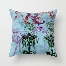 Our Young Bones Throw Pillow