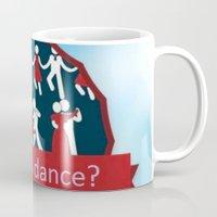 dancing Mugs featuring Dancing by Pavlo Tereshin