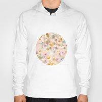 minerals Hoodies featuring Seashells by Caroline Sansone