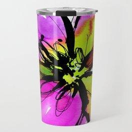 Ecstasy Bloom No.17e by Kathy Morton Stanion Travel Mug