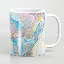 USGS Geological Map of North America Coffee Mug
