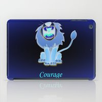 oz iPad Cases featuring oz-courage by Jovan Dortch