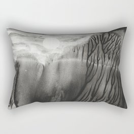 Blackwater Park - abstract watercolor monotype Rectangular Pillow