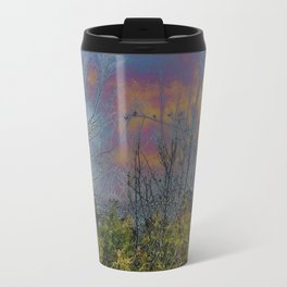 Winters Approach; Spring Stays Imbeded Travel Mug