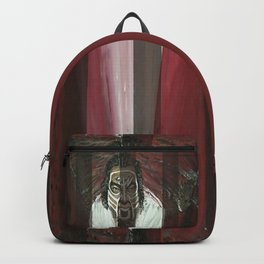 Tech N9ne Painting in Acrylics Backpack