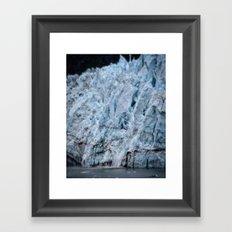 Glacier Bay Ice Framed Art Print