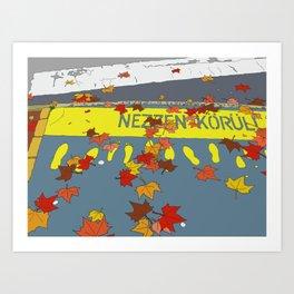 Budapest Crossing Art Print