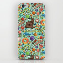 Candy Pattern iPhone Skin