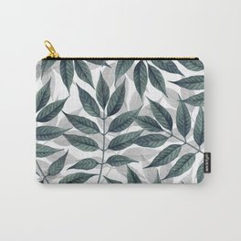 Modern autumn leaves image Carry-All Pouch