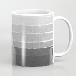Brushstroke - Ombre Grey, Charcoal, minimal, Monochrome, black and white, trendy,  painterly art  Coffee Mug