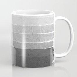 Brushstroke - Ombre Grey, Charcoal, minimal, Monochrome, black and white, trendy,  painterly art  Coffee Mug