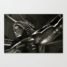 Life in Art Deco Canvas Print