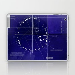 Druids Circle, Castlerigg, Keswick, Cumbria blueprint Laptop & iPad Skin