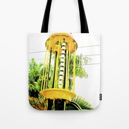 The hostility of the world. Tote Bag