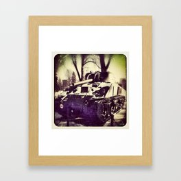 War Tank Framed Art Print