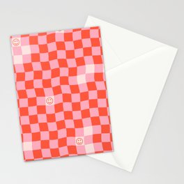 SmileyChecks Stationery Cards