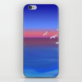 Where the ocean meets the sky iPhone Skin