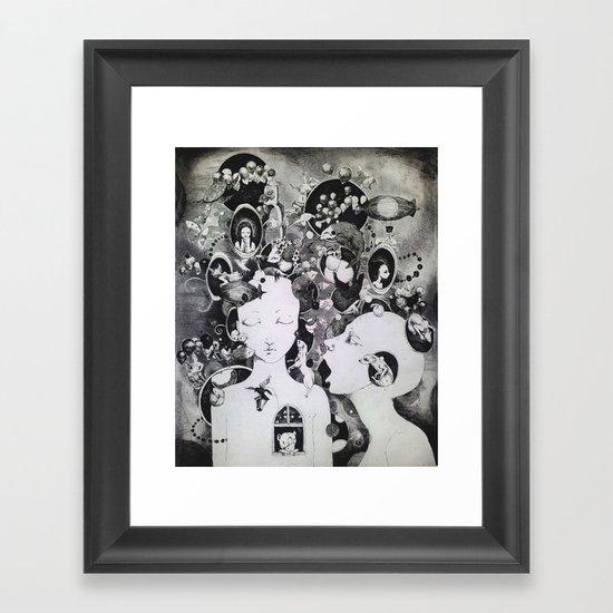 Thoughts II Framed Art Print