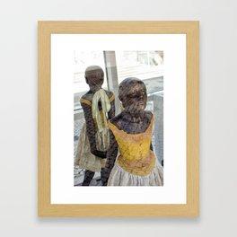 Danseuses Framed Art Print