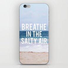 Salty Air iPhone & iPod Skin